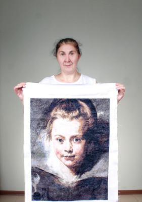 Portrait of Clara Serena
