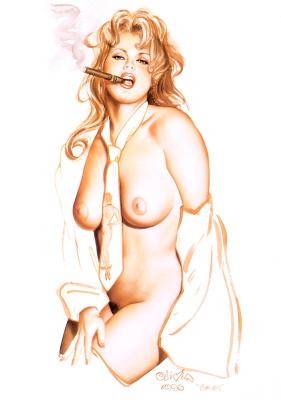 Оливия Де Берардинис. Пин-ап 298