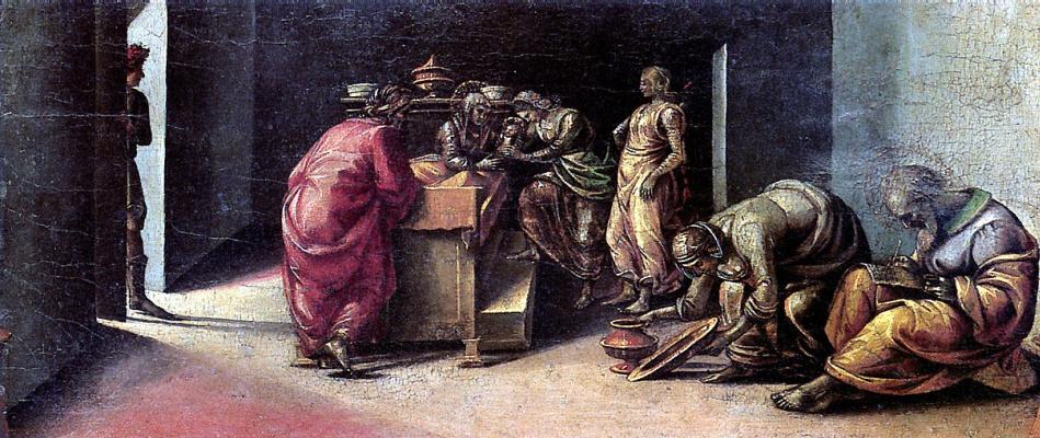 Luke Signorelli. The Nativity Of St. John The Baptist