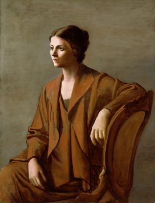 Pablo Picasso. Portrait Of Olga