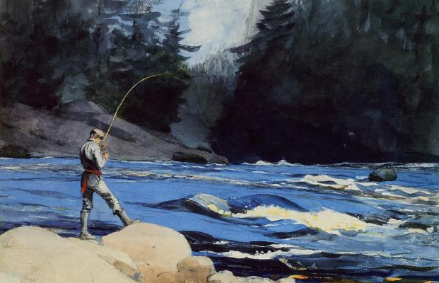 Winslow Homer. Lake St. John