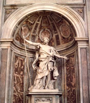 Джованни Лоренцо Бернини. Святой Лонгин