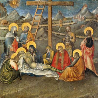 Джованни ди Паоло. Снятие с креста