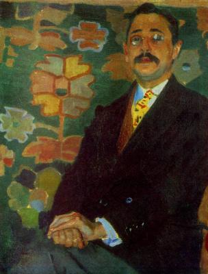 Alexander Murashko. Portrait Degtyarev