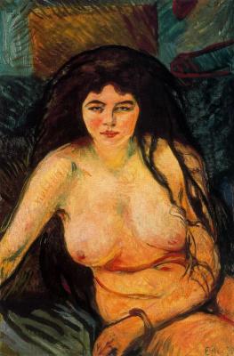 Edvard Munch. Beast