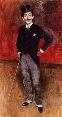 Giovanni Boldini. Portrait of Count de Rusty
