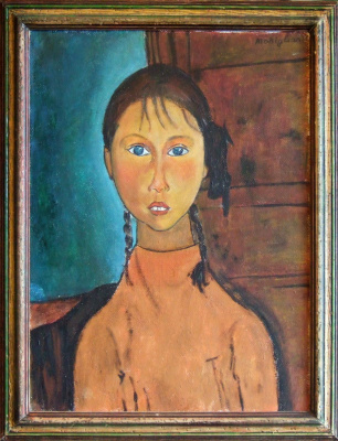 Copy: Modigliani - Girl with Pigtails