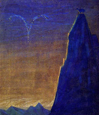"Mikalojus Konstantinas Ciurlionis. Aries. From the series ""zodiac Signs"""