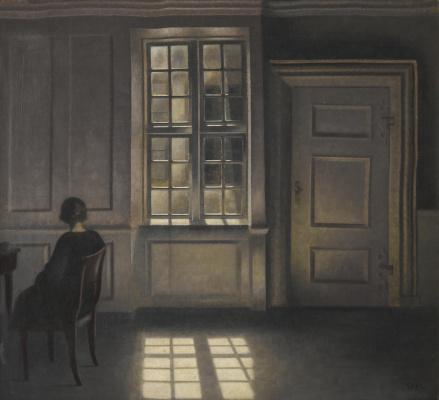 Wilhelm Hammerschey. Interior. Stranded, 30
