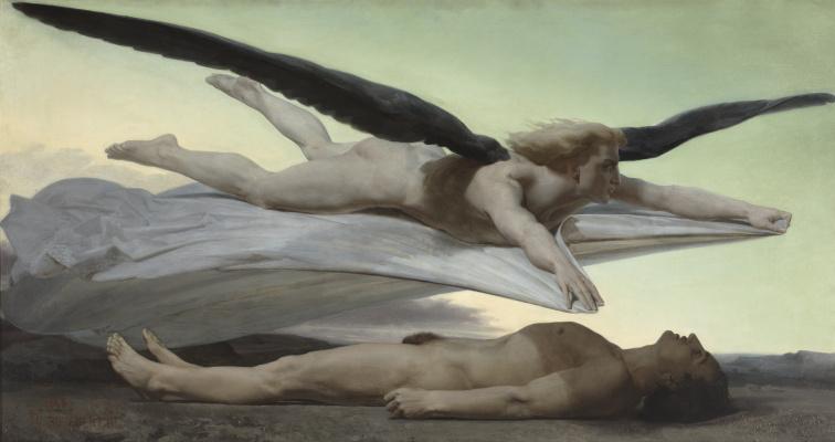 Адольф Вильям Бугро. Равенство перед смертью