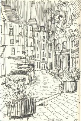 Zonk197. Полночь в Париже