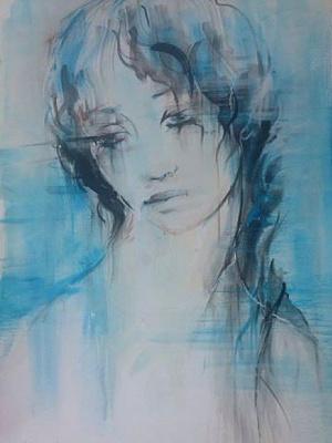 Larisa Baranova. Rains, rains -