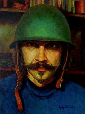 """David Shikovich Brodsky. """"Kulai on guard"""""""