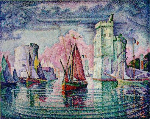 Paul Signac. The Port Of La Rochelle