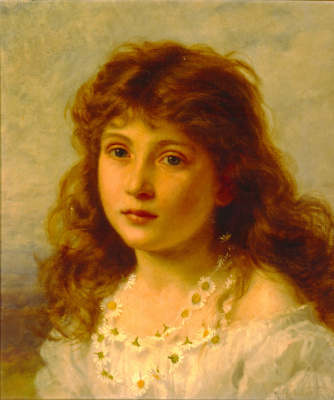 Sophie Jeanjambre Anderson. Young girl