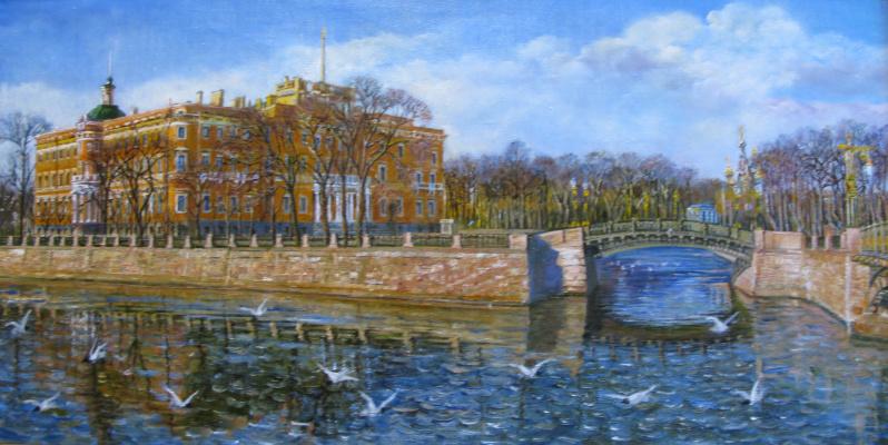 Muzalevskaya Evgenievna Julia. St. Petersburg. Mikhailovsky castle