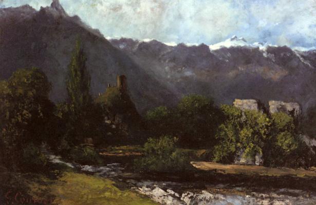 Gustave Courbet. Glacier