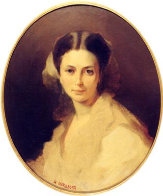 Ivan Kuzmich Makarov. Portrait Of Bogolubovo