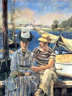 Edouard Manet. Argenteuil