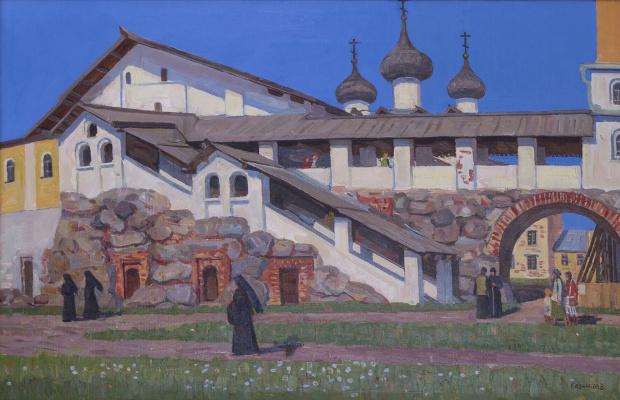 Eugene Alexandrovich Kazantsev. Spaso Preobrazhensky monastery. Solovki.
