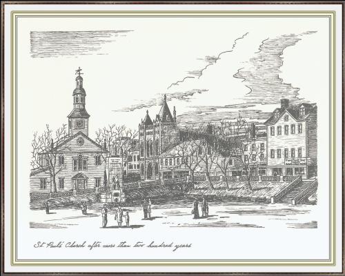 Дженсон Галифакс. Церковь