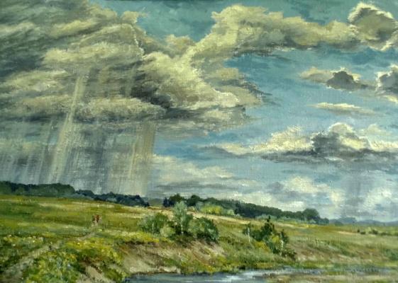 Victor Vladimirovich Kuryanov. Transparent clouds