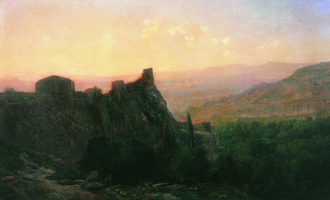 Lev Feliksovich Lagorio. View of Tiflis