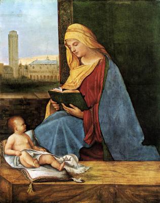 Giorgione. Madonna with a book