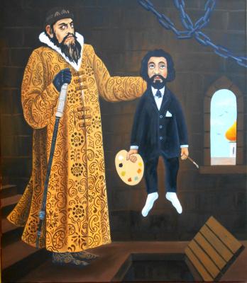 Vladimir Vladimirovich Dvizov. Ivan the Terrible kills artist Ilya Repin