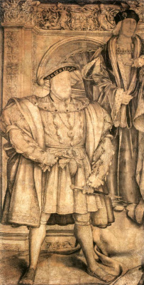 Ганс Гольбейн Младший. Генрих VIII и Генрих VII
