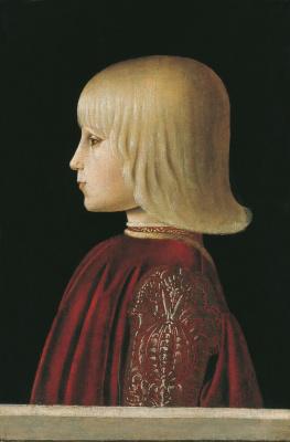 Piero della Francesca. Portrait of a boy