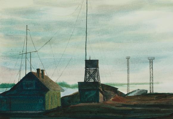 Виктор Михайлович Бородин. Weather station