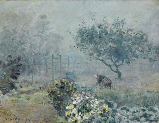 Alfred Sisley. Fog, Voisins