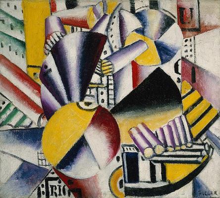 Fernand Leger. The boatman