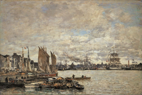 Frits Thaulow. Le Havre
