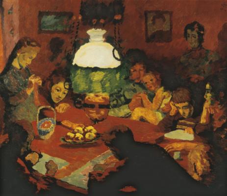 Giovanni Giacometti. Lamp