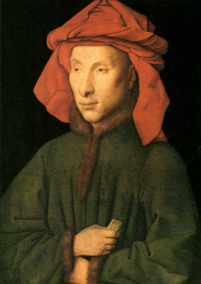 Jan van Eyck. Portrait Of Giovanni Arnolfini