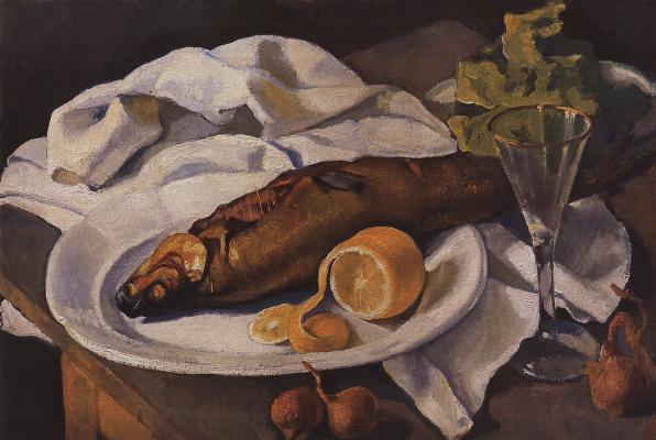 Zinaida Serebryakova. Herring and lemon