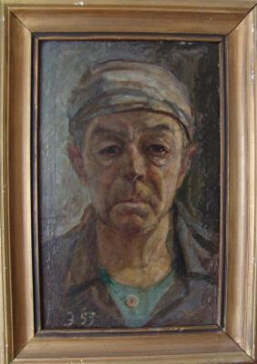 Vladimir (Voldemar) Alexandrovich Eyfert. Self-portrait