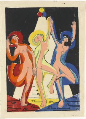 Ernst Ludwig Kirchner. Farbentanz