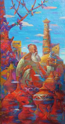"Furkat Kurbonovich Bozorov. ""Potter"", ""The Birth of Ceramics"""