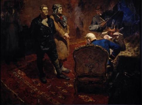 Boris Vladimirovich Johanson. Interrogation of the Communists