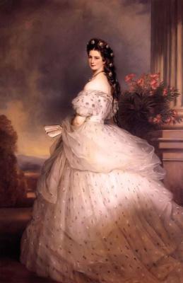 Франц Ксавер Винтерхальтер. Елизавета Баварская (императрица Австрии)
