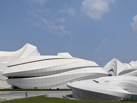 Zaha Hadid. Meishihu International Center for Culture and Art