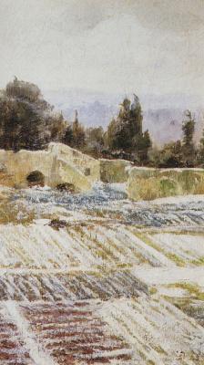 Vasily Dmitrievich Polenov. Winter in Rome