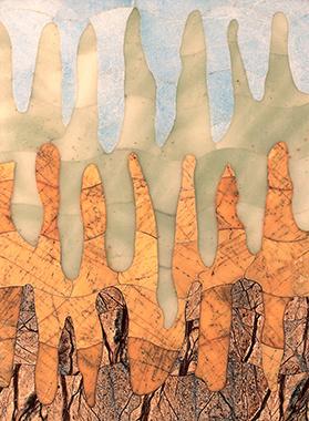 Boris Lazarevich Oshkukov. Cappadocia, Florentine mosaic