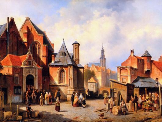 Жак Карабаин. Город в Голландии