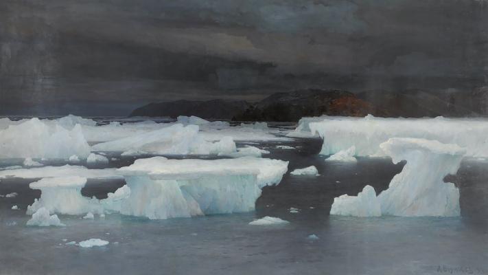 В области вечного льда. Лето