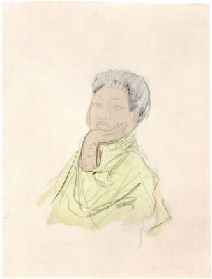 Auguste Rodin. King Sisowath
