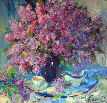 Valerij Ivanovich Sosna. Lilac